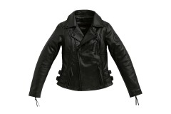 Жіноча шкіряна куртка BMW FlatTwin, чорна